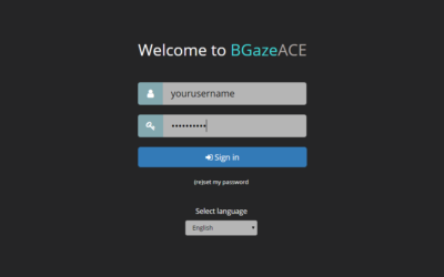 Step-by-step Guide to Install BGaze ACE